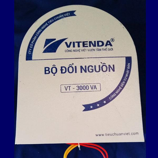 Bộ đổi Nguồn 3KVA Vitenda Hình Móng Ngựa Từ 220V Sang 110V