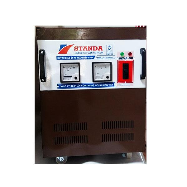 Ổn Áp Standa 15KVA ST 1 Pha (dải Từ 150V – 250V)