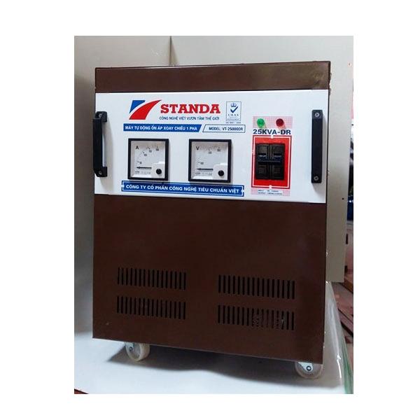 Ổn áp Standa 25KVA DRI 1 Pha Dải 50V đến 250V
