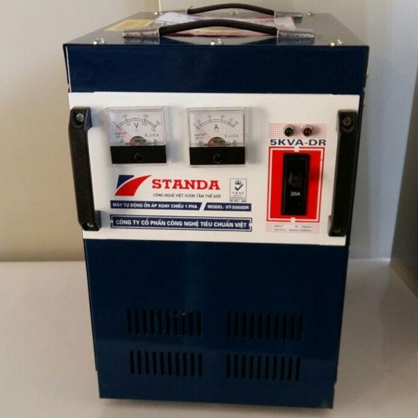 Ổn áp Standa 5KVA DRI 1 Pha (Dải Từ 50V – 250V)
