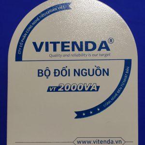 Bộ đổi Nguồn 2000VA Móng Ngựa Vitenda