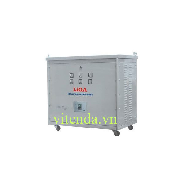Biến áp Tự Ngẫu Lioa 100KVA 3 Pha Vào 380 Ra 200V – 220V