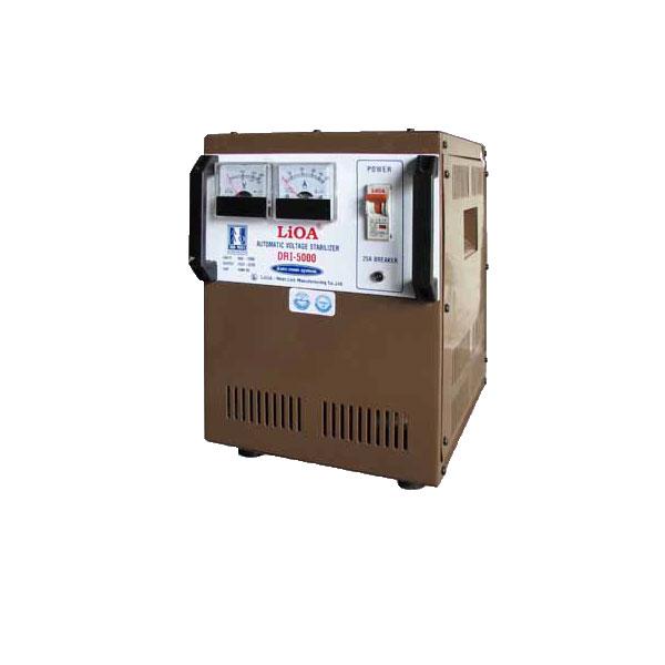 Ổn áp Lioa 1KVA DRII 1 Pha Dải  điện áp 50V – 250V