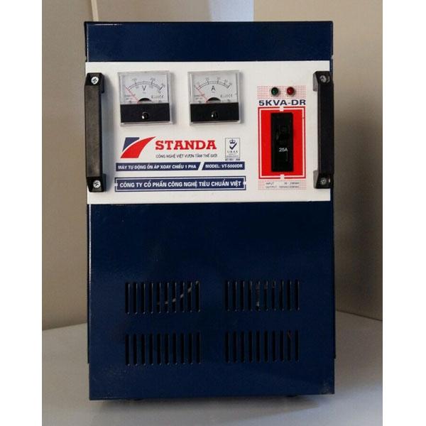 Ổn áp Standa 5KVA DRI 1 Pha (Dải Từ 90V – 250V)