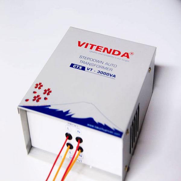 Biến áp đổi Nguồn 2KVA Từ 220V Sang 110V(100V) Vitenda HCN
