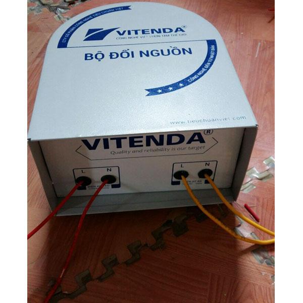 Cục đổi nguồn 1500VA đồng 220V sang 110V - 100V
