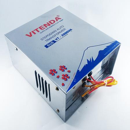 Cục chuyển đổi nguồn 2000VA dây đồng inox