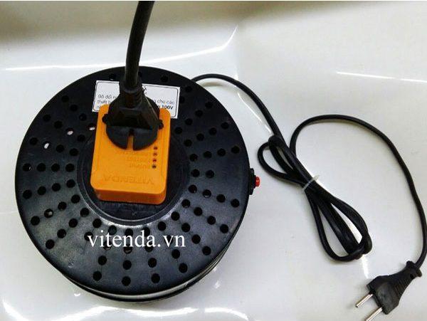 Cục chuyển đổi nguồn 1000VA Vitenda dây đồng