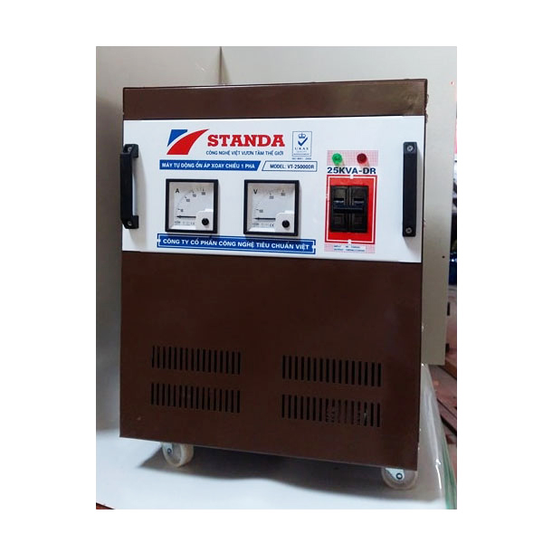 Stabilizers Standa DR 1 Phase 25KVA (Range From 90-250V)