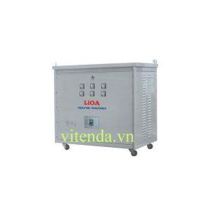Biến áp Tự Ngẫu Lioa 10KVA 3 Pha Vào 380 Ra 200V – 220V