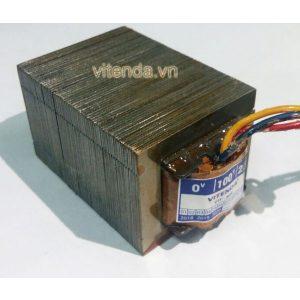 Cục đổi Nguồn Mini Từ 220V Sang 100V, 110V, 120V  Công Suất 80VA Vitenda