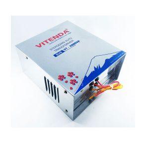 Biến áp đổi Nguồn 2000VA Vitenda Inox Từ 220V Sang 110V(100V)