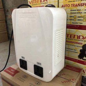 Biến áp đổi Nguồn 1,5KVA ổ Cắm Cao Cấp Vitenda Từ 220V Sang 110V(100V)