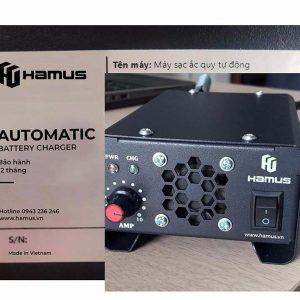 Bộ Sạc ắc Quy 48V 10A Tự động Hamus