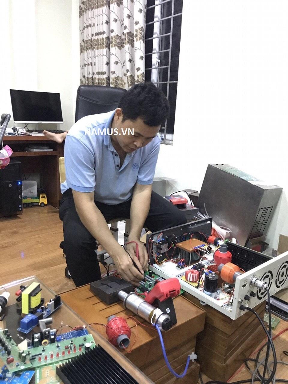 Sửa chữa máy hàn khẩu trang, máy hàn siêu âm tốt nhất tại Việt nam
