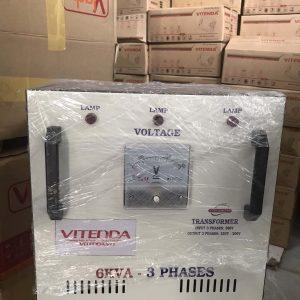 Biến áp 3 Pha 6KVA Vào 380V điện Ra 200V-220V